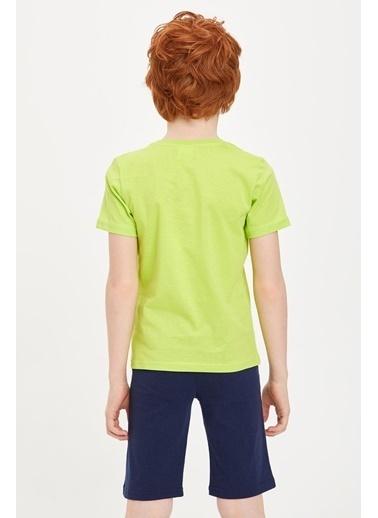 DeFacto Pijama Takım Yeşil
